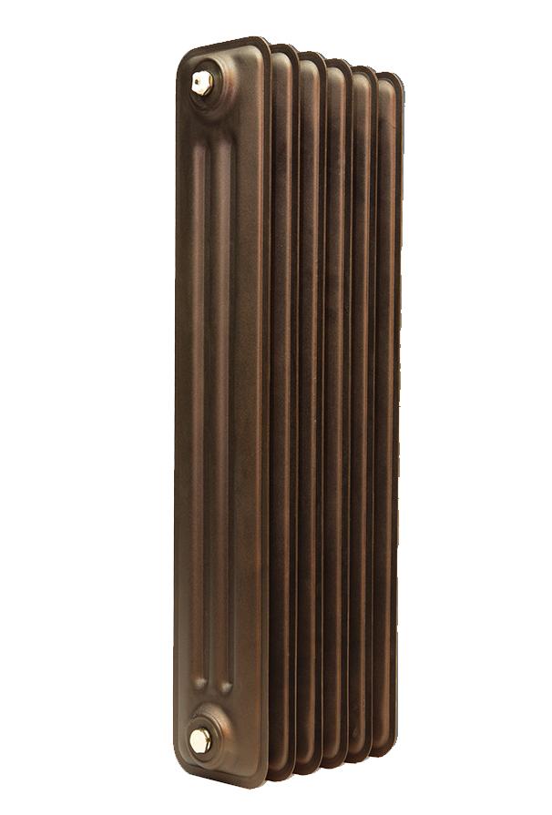 Θερμαντικό σώμα τρίστηλο 655 με 24 φέτες (2400 κcal/h) καφέ (bronze)