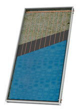 Συλλεκτης Επιλεκτικος 1,5μ2  Ηλιακων Θερμοσιφωνων Nobel Aelios