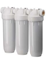 Φίλτρο νερού παροχής Τριπλό Λευκό Atlas Filtri