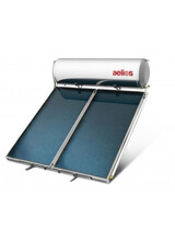 Ηλιακός Θερμοσίφωνας Nobel Aelios 160lt/3m² Διπλής ενέργειας με δοχείο Glass και με επιλεκτικό συλλέκτη AELIOS