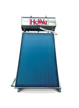 Ηλιακός Θερμοσίφωνας Ηοwat 120Lt / 2m2(Διπλής Ενέργειας) Επιλεκτικός Συλλέκτης