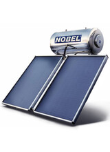 Ηλιακός Θερμοσίφωνας Classic Nobel  200lt/4m2 (2Χ2m2 ) Διπλής Ενέργειας με Δοχείο Inox