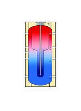 Δοχεία Αδρανείας Buffer Τank in Tank Cosmosolar 750LT (COS DA0 TT 750) χωρίς εναλλάκτη