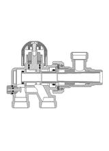Διακόπτης Brass Form μονοσωληνίου εξωτερικού βρόγχου σπαστός Micro Form 660 με By-Pass