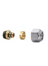 Σύνδεσμος πολυστρωματικής σωλήνας 16x2 Brass Form 00 - 02 - 03