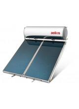 Nobel / Ηλιακός Θερμοσίφωνας Glass 200Lit./4m² Μαύρης Βαφής ALB - Σειρά Aelios Διπλής Ενέργειας