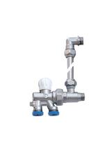 Διακόπτης Brass Form μονοσωληνίου εξωτερικού βρόγχου σπαστός Micro Form - By-Pass 660