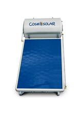 Ηλιακός θερμοσίφωνας COSMOSOLAR INOX Σειράς CS-120-IS 2m2 Διπλής Ενέργειας Κάθετος με Επιλεκτικό Συλλέκτη