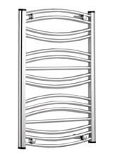 Θερμαντικό Σώμα Μπάνιου Πετσετοκρεμάστρα K-Energy ΉΡΑ Χρωμέ  600x1200mm 780kcal